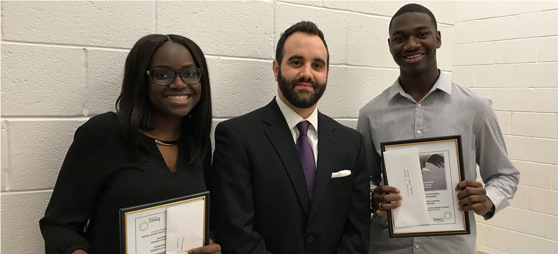 Bormel, Grice & Huyett, P.A. Presents Two Scholarships to Business-Focused Graduates