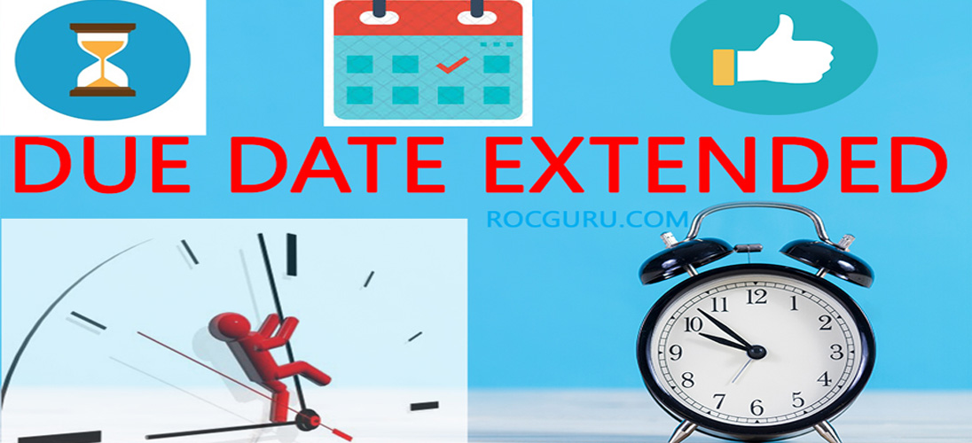 Due Date Extensions